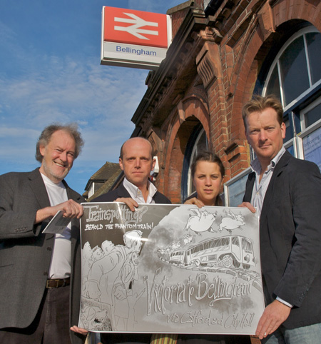 Campaigning to save the Bellingham to Victoria train