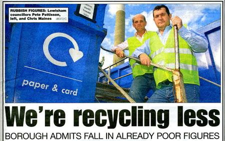 Recycling Plummets